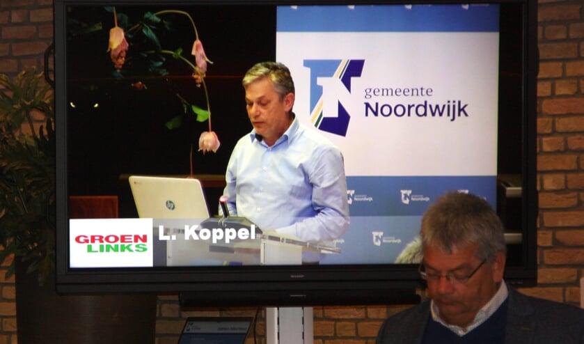 Louis Koppel uitte waardering en kritiek richting wethouder Salman. | Foto: WS