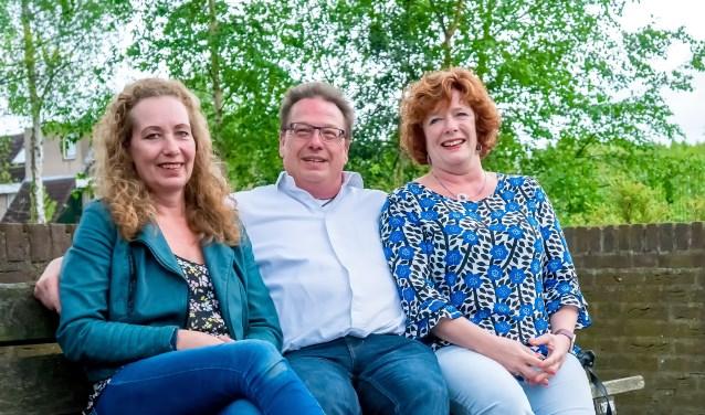 V.l.n.r. Karin van der Reijden, Alexander van der Sel en Annemiek de Groot. | Foto: J.P. Kranenburg