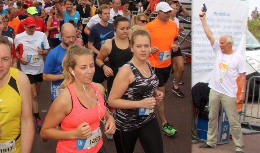 De zevende editie van de 10 van Noordwijk wordt gehouden op 14 juli.   Foto: Archief