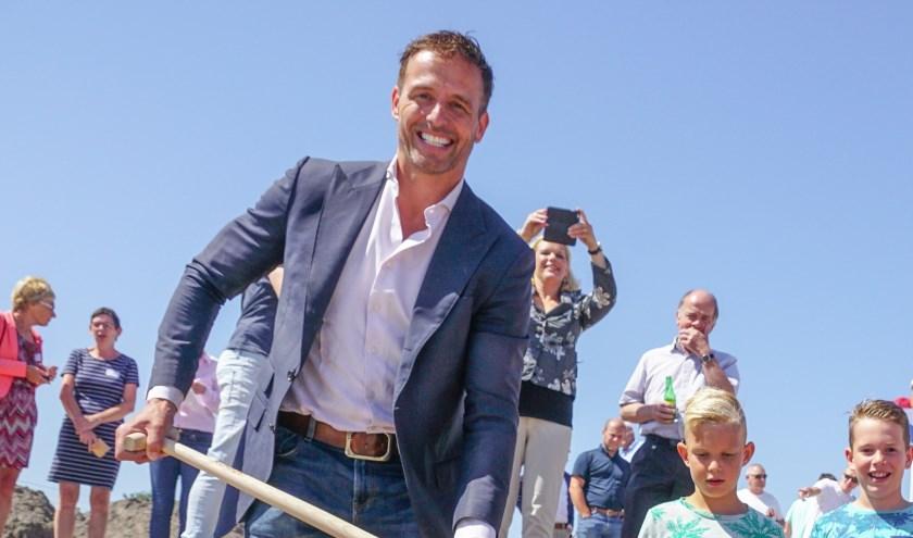 Wethouders Bas Brekelmans besloot  begin mei te kiezen voor zijn gezinsleven. | Foto: pr