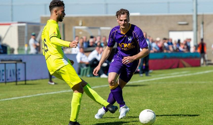 Frank Tervoert was goed voor twee doelpunten. | Foto: Orange Pictures, Kees Kuijt