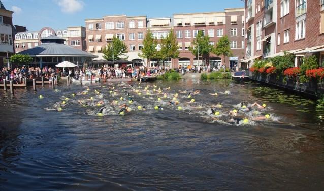 De start en finish bij het Voorhavenkwartier.   Foto: pr