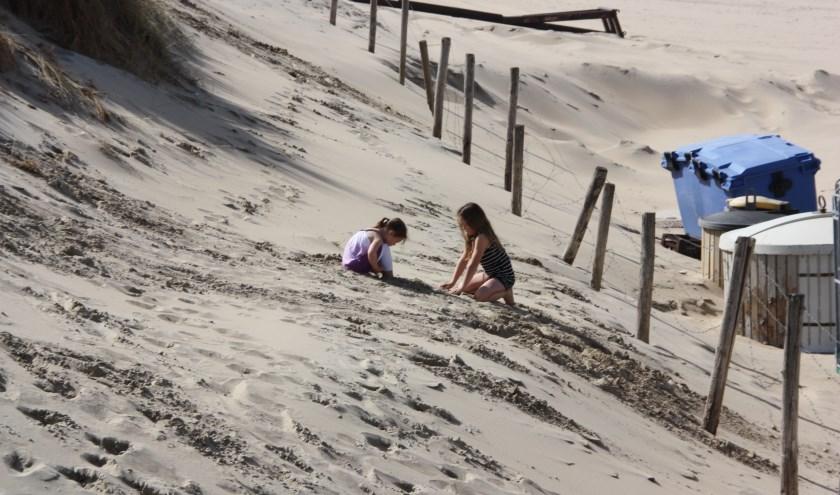 De opdracht voor onderzoek naar het mogelijk noodzakelijk onderhoud van de duinenrij kon niet worden uitgevoerd. | Foto: WS