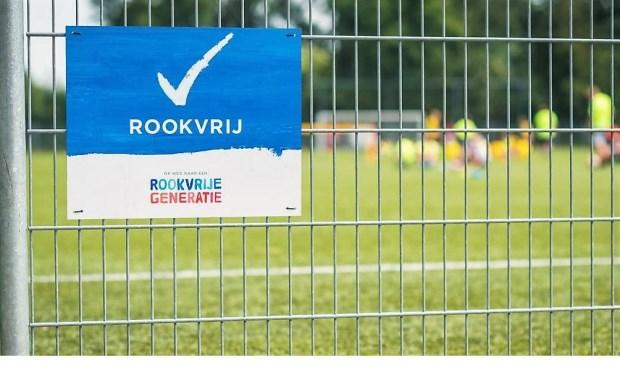 In Katwijk is nog geen enkele sportpark helemaal rookvrij.