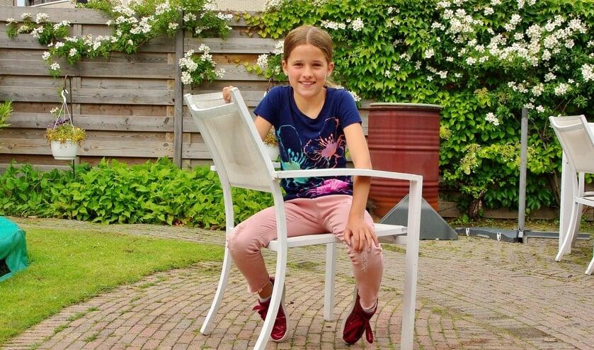 Yfke neemt als dressuurtalent deze zomer deel aan een een intensief trainingsprogramma. | Foto Willemien Timmers
