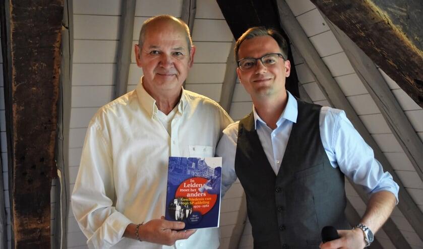Voormalig fractievoorzitter Jan Marijnissen en Bart van der Steen. | Foto's: Emile van Aelst.