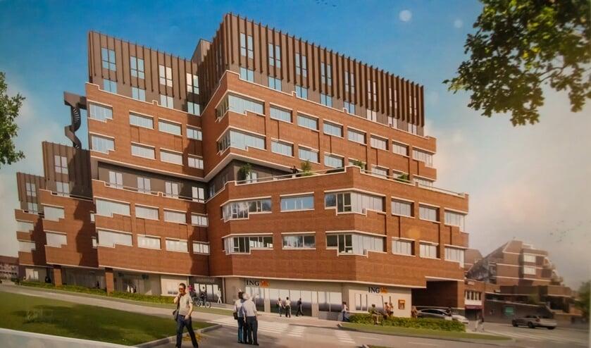 Zo moet de getransformeerde Statenhof eruit gaan zien.