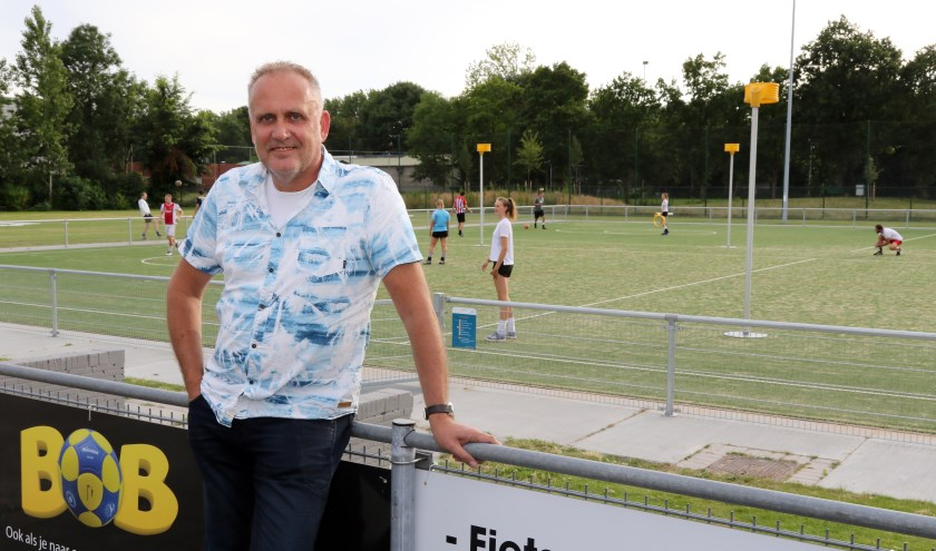 Fiks-voorzitter Sven de Ruijter. | Foto Rob van Hilten