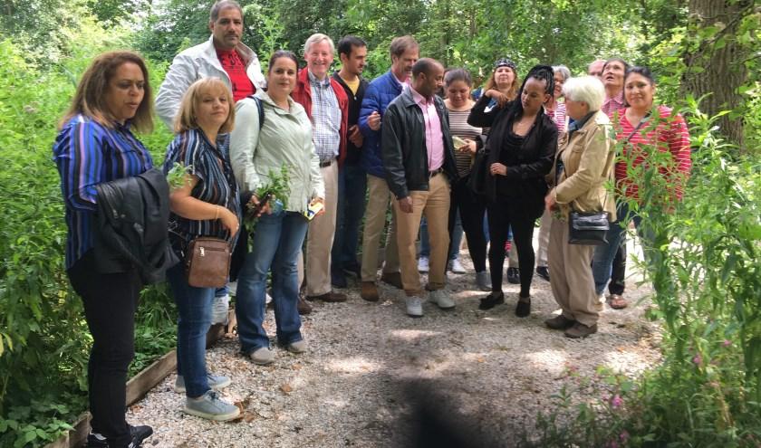 De gemeente heeft in 1980 de tuin overgenomen en zo veel mogelijk de natuur zijn gang laten gaan. | Foto: pr