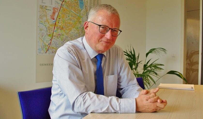 Wethouder Peter Glasbeek.