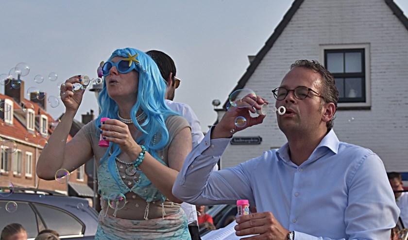 De opening twee weken geleden | Foto: Piet van Kampen