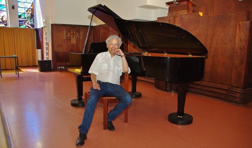 Om de concertgasten en de musici optimaal te dienen, is er een concertvleugel aangeschaft. | Foto Willemien Timmers