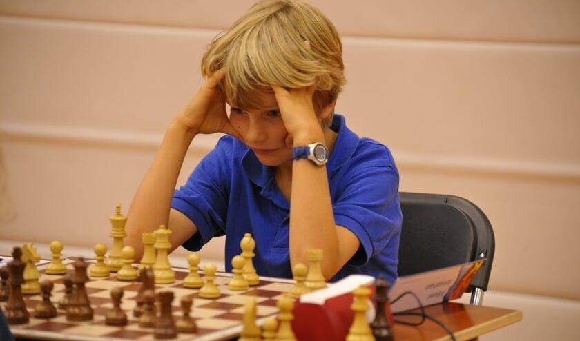 Jonathan Vijver concentreert zich op zijn partij.