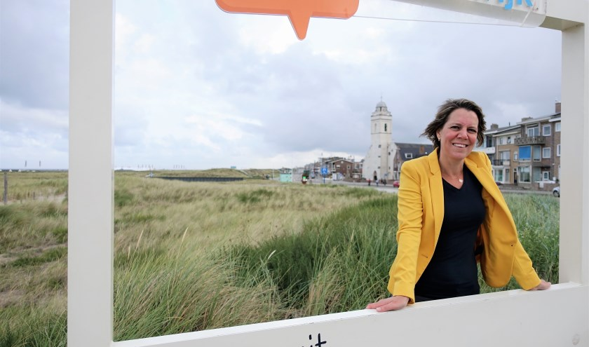 Annemarie Guijt vindt de campagne 'DIT! is Katwijk' een van de meest geslaagde: 'We bereikten daarmee miljoenen mensen'.