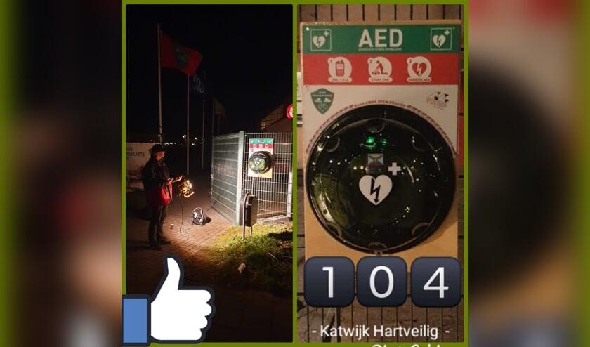 Stichting Katwijk HartVeilig hangt AED bij de Goerie op - Alles over Katwijk