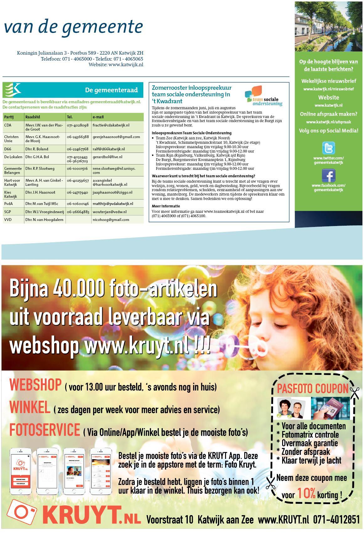 43bad8dc0b1 De Katwijksche Post 1 juni 2017
