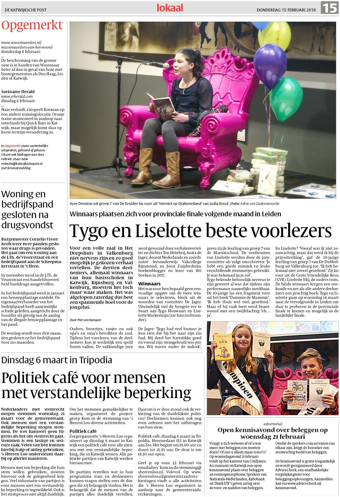 5e9caf13d72d55 De Katwijksche Post 15 februari 2018