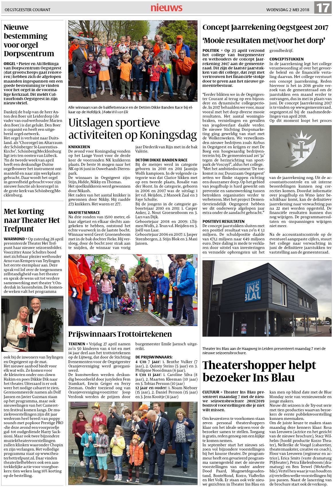76e91fb3c7d Oegstgeester Courant 2 mei 2018