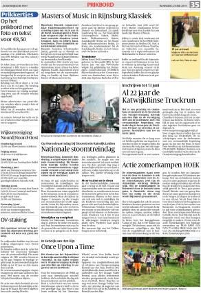 De Katwijksche Post 29 Mei 2019