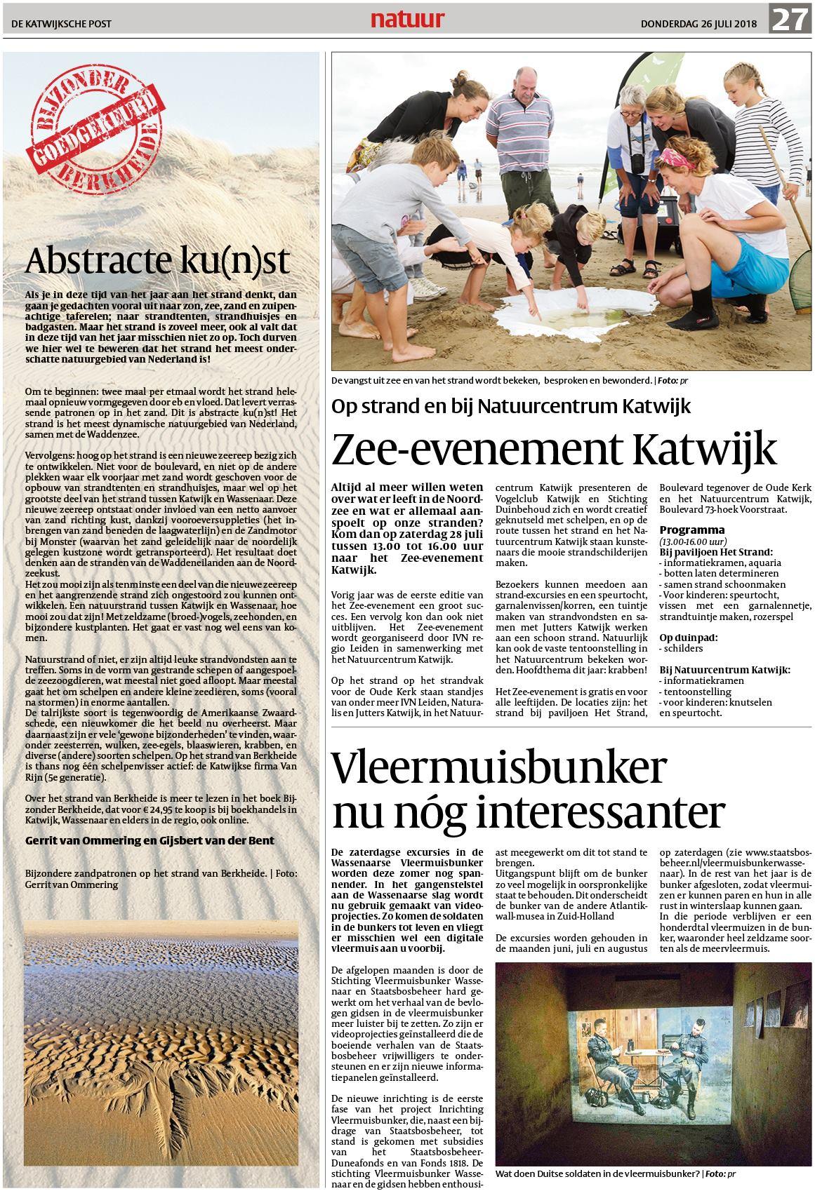 7ea5d364a70de2 De Katwijksche Post 26 juli 2018