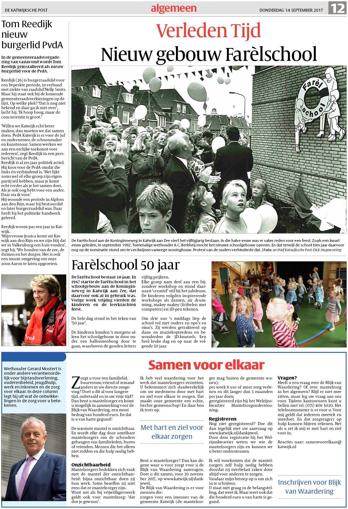 e52eebef8cdcac De Katwijksche Post 14 september 2017
