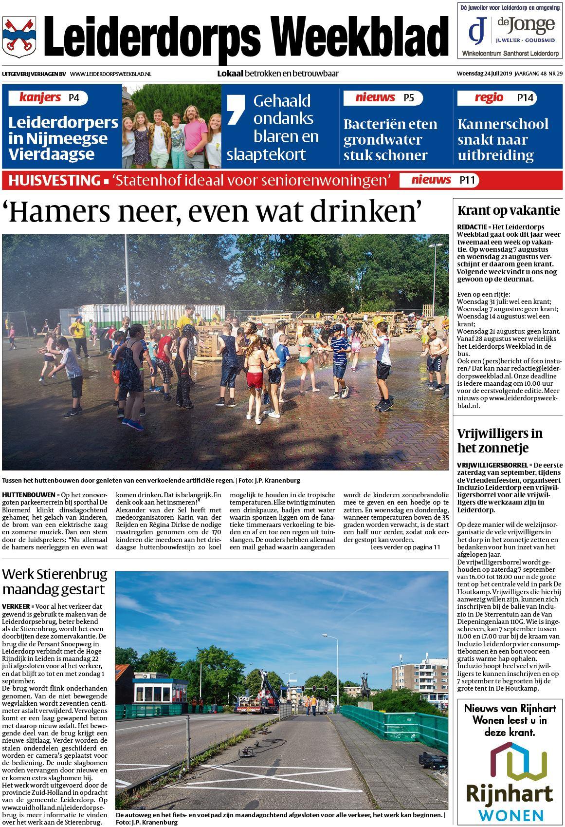 7fc90da4f5bd17 Leiderdorps Weekblad 24 juli 2019