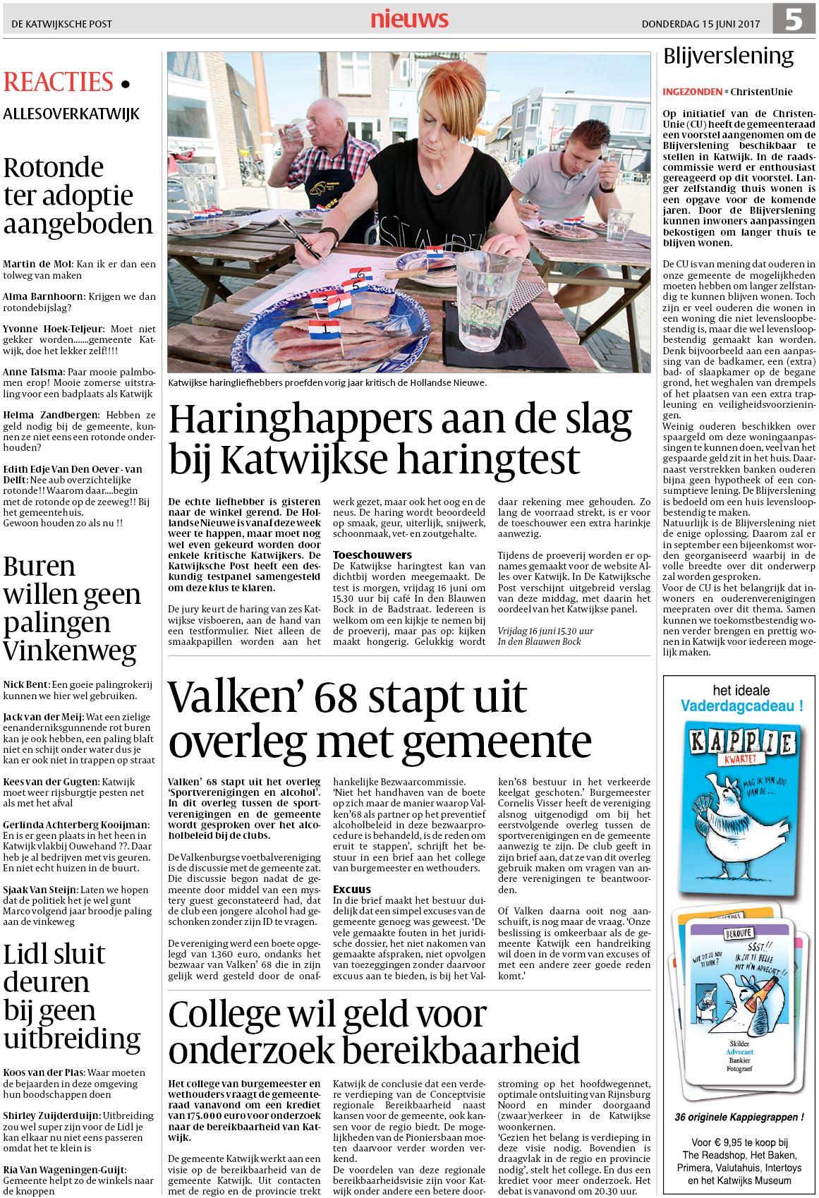 De Katwijksche Post 15 Juni 2017