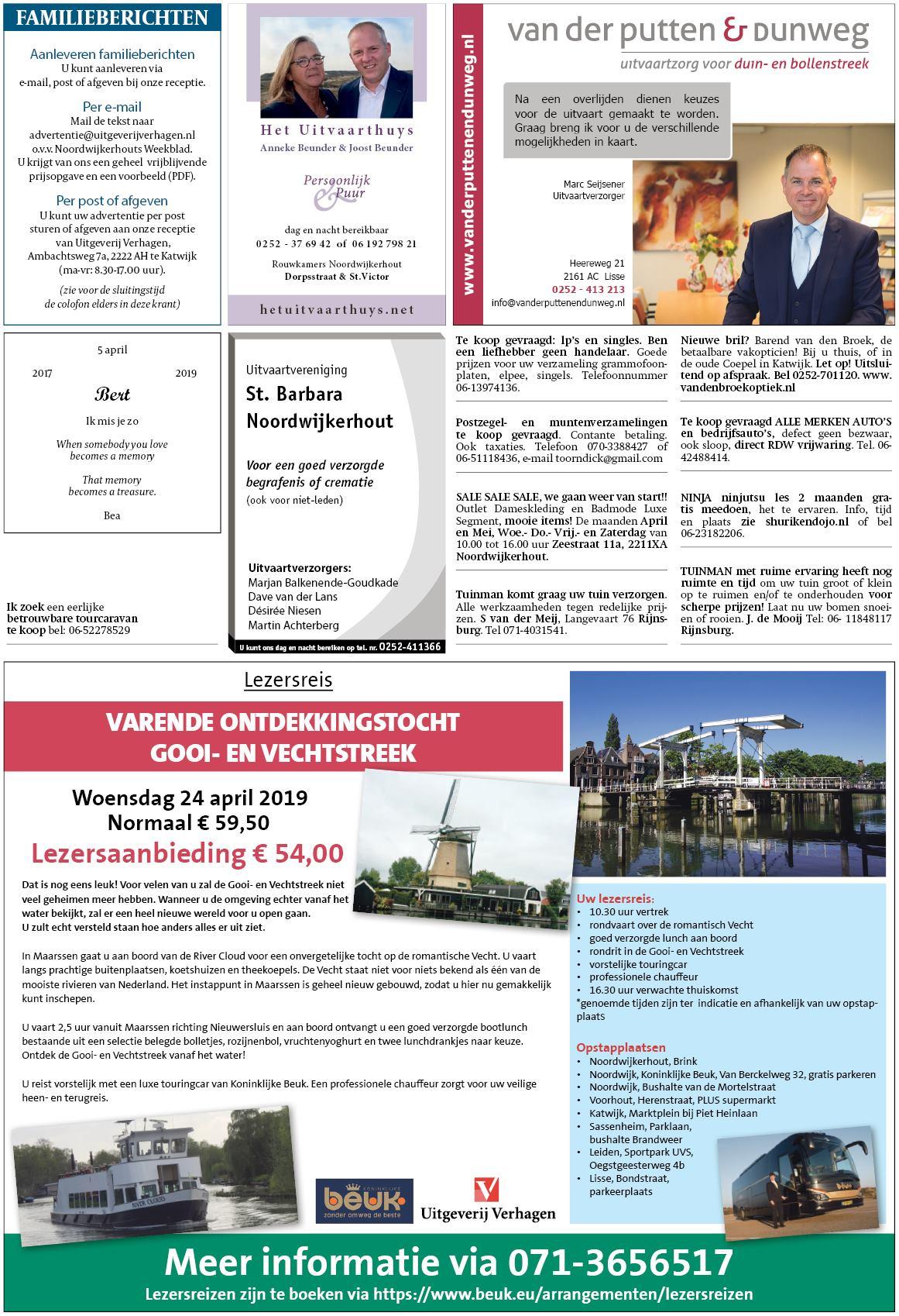 de5b4c96230 Noordwijkerhouts Weekblad 2 april 2019