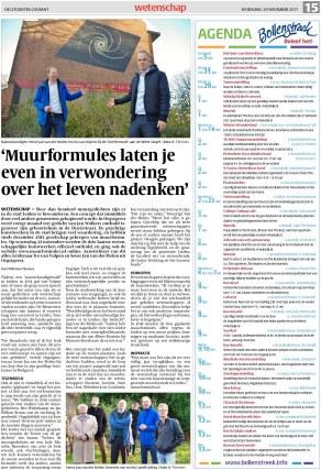Oegstgeester Courant 29 november 2017