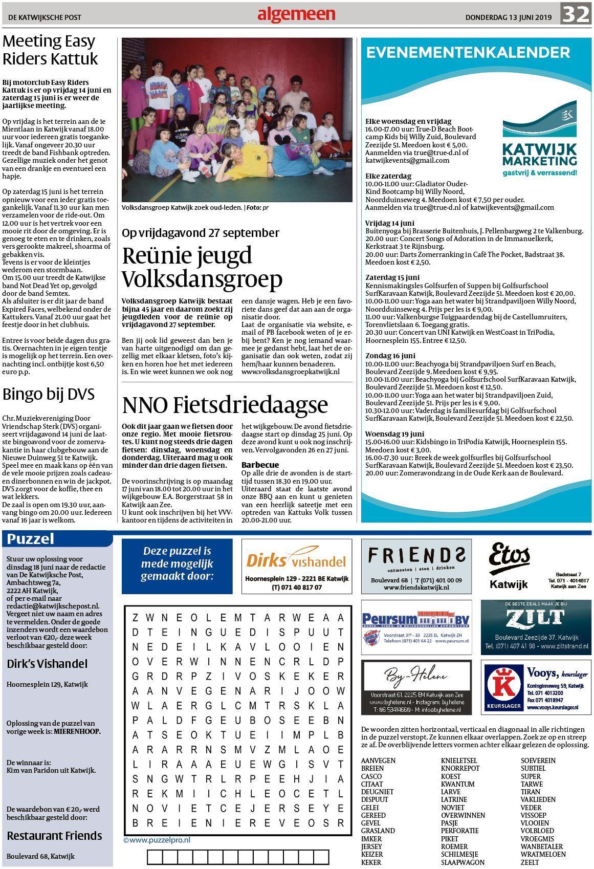 De Katwijksche Post 13 Juni 2019