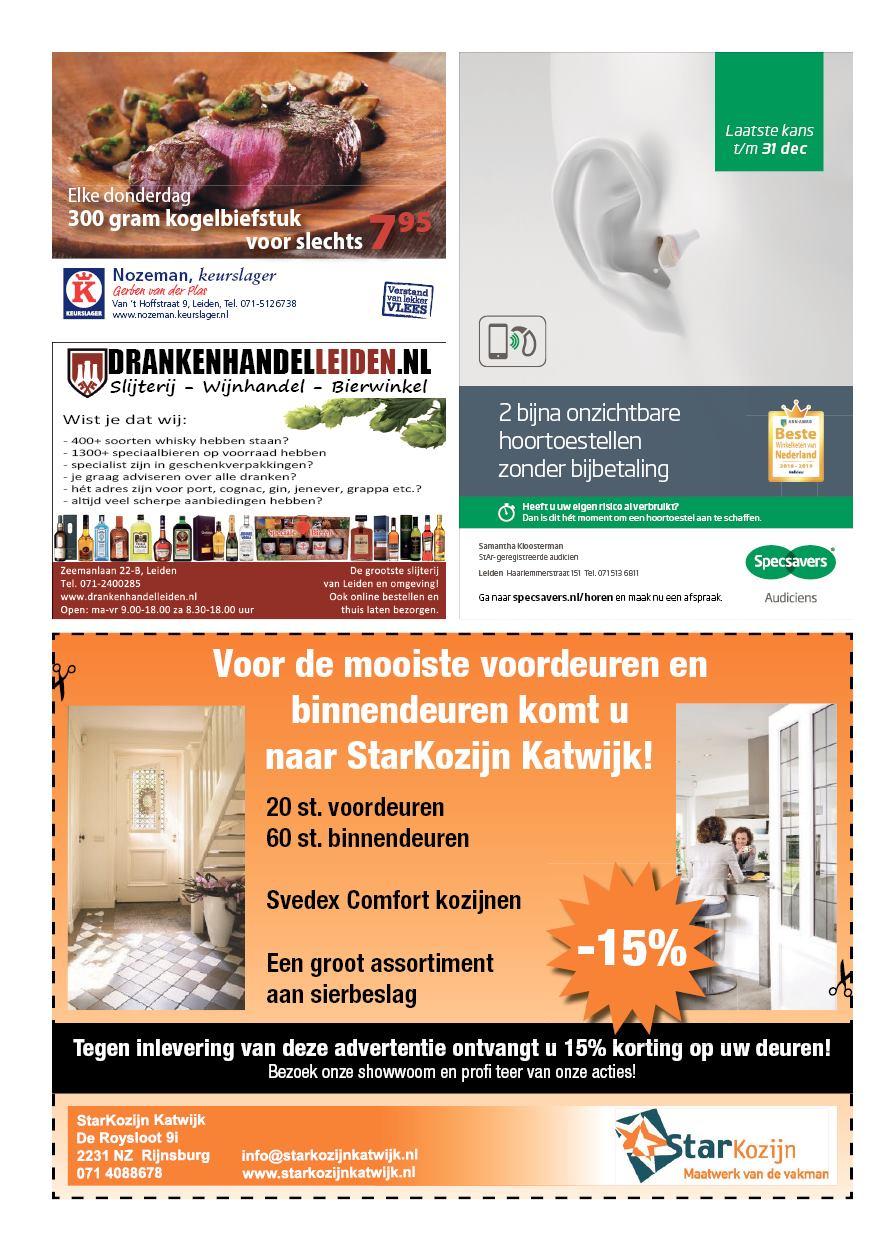 dbd2c607999 Nieuwsblad De Leydenaer 16 oktober 2018