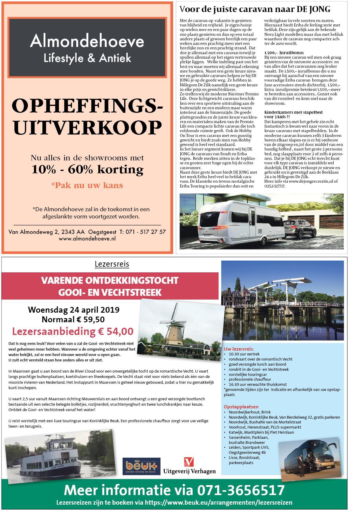 506bbf0241d356 Noordwijkerhouts Weekblad 16 april 2019