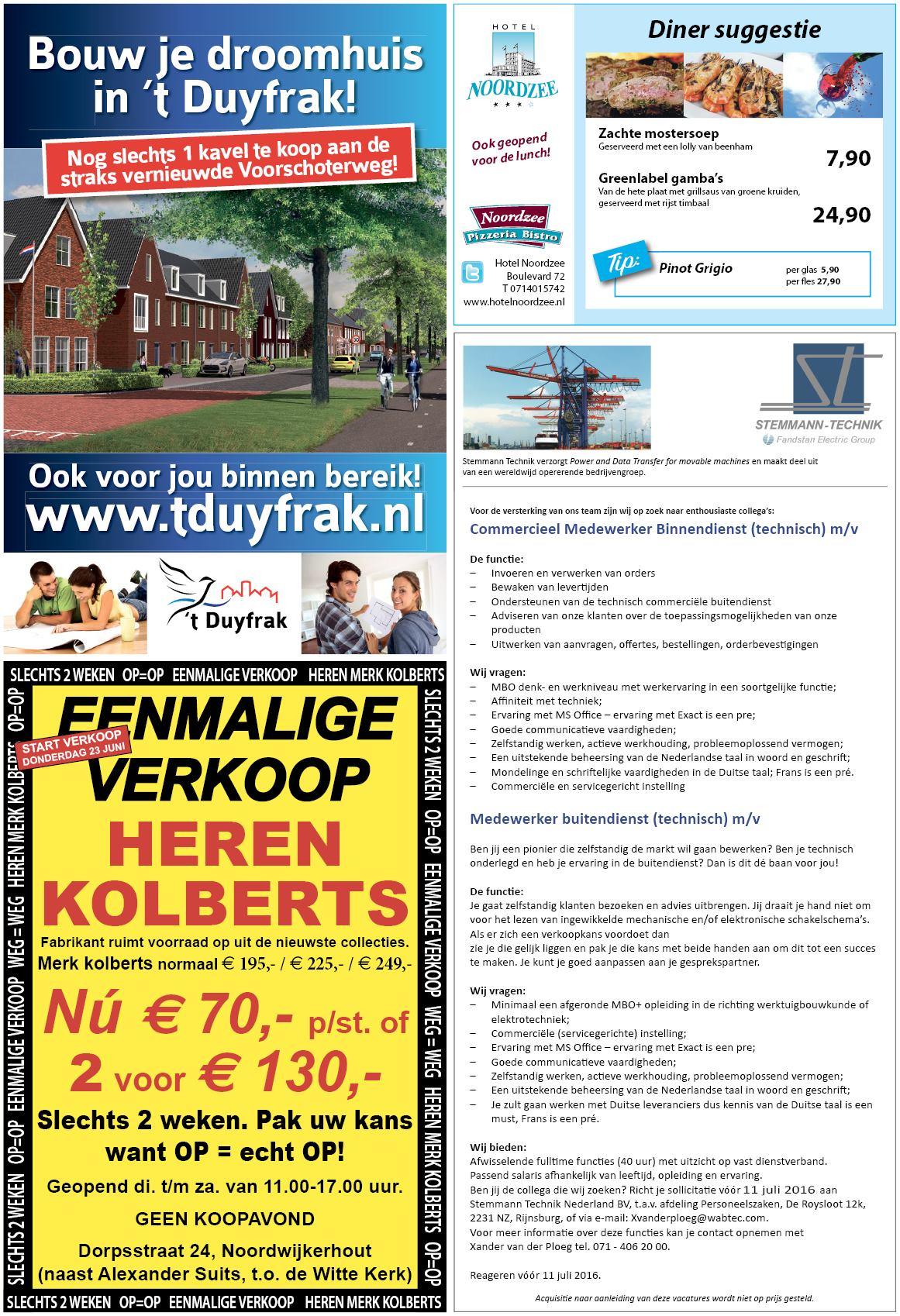 De Katwijksche Post 23 juni 2016