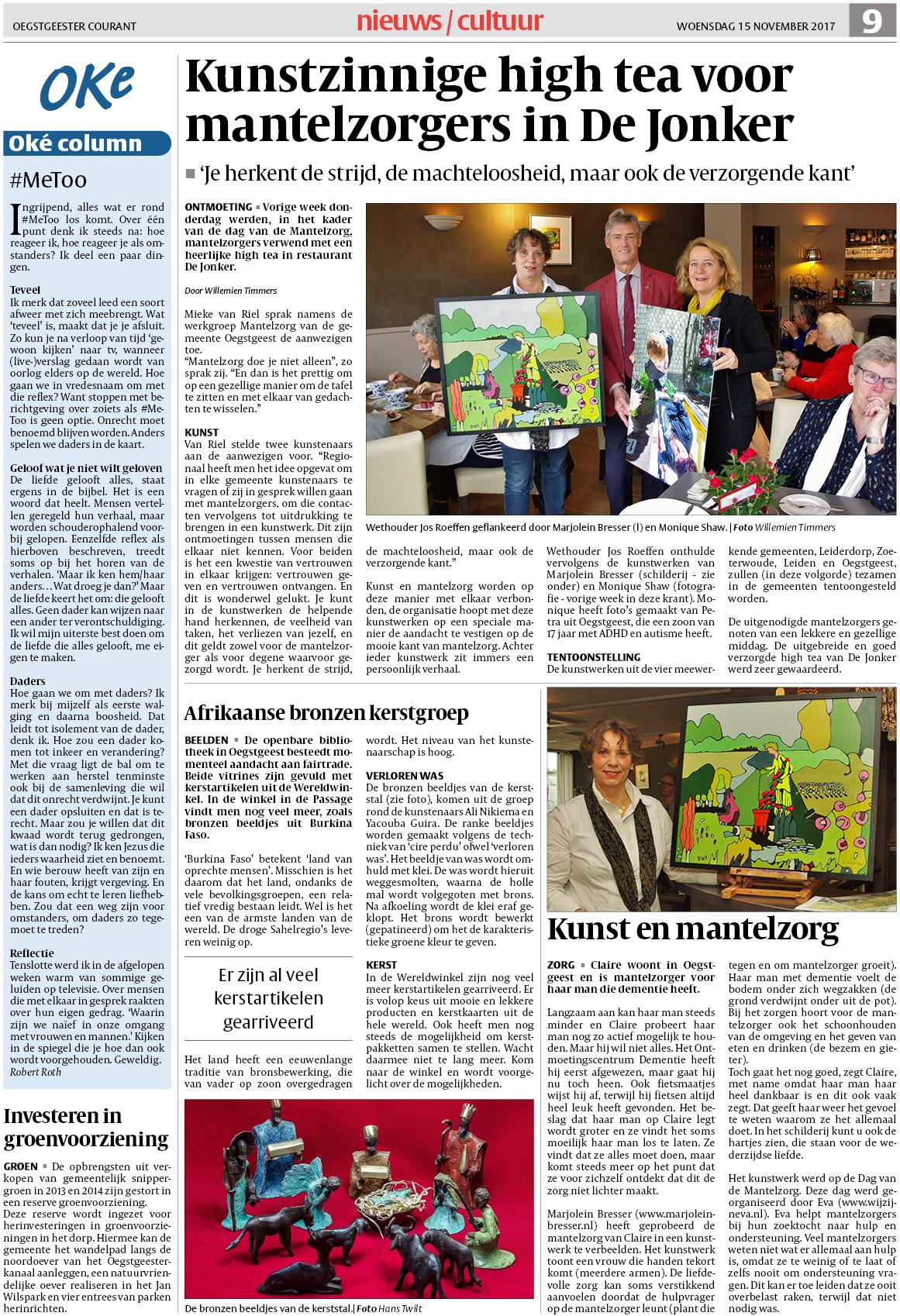 oegstgeester courant 15 november 2017