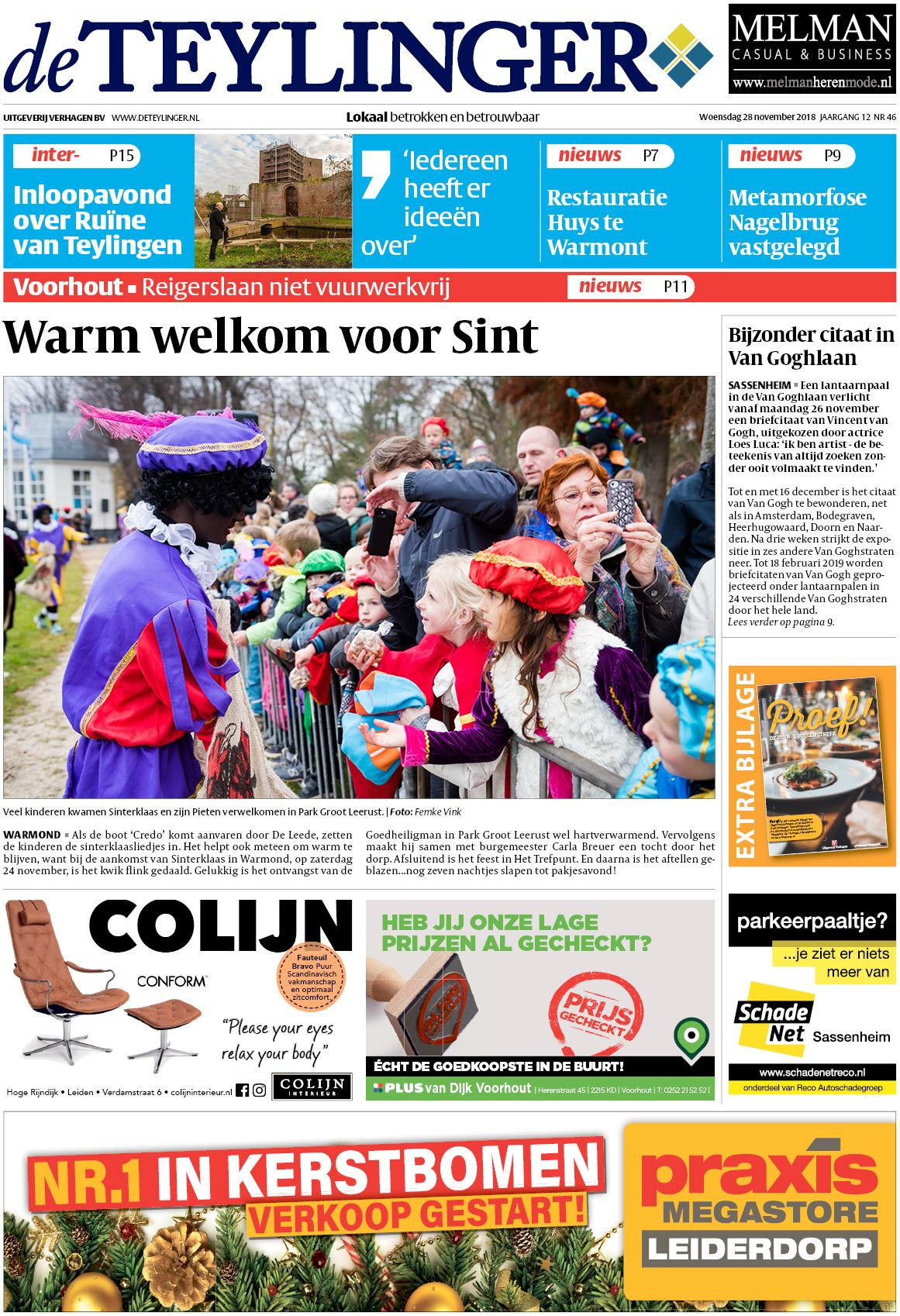 De Teylinger 28 November 2018