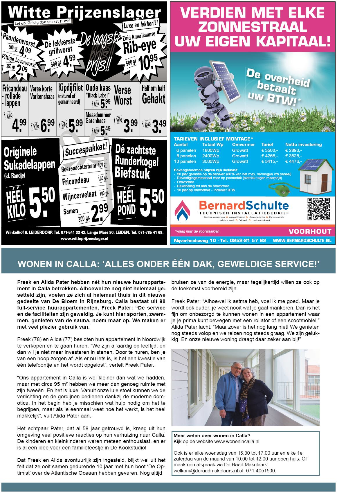 Oegstgeester Courant 8 Mei 2019