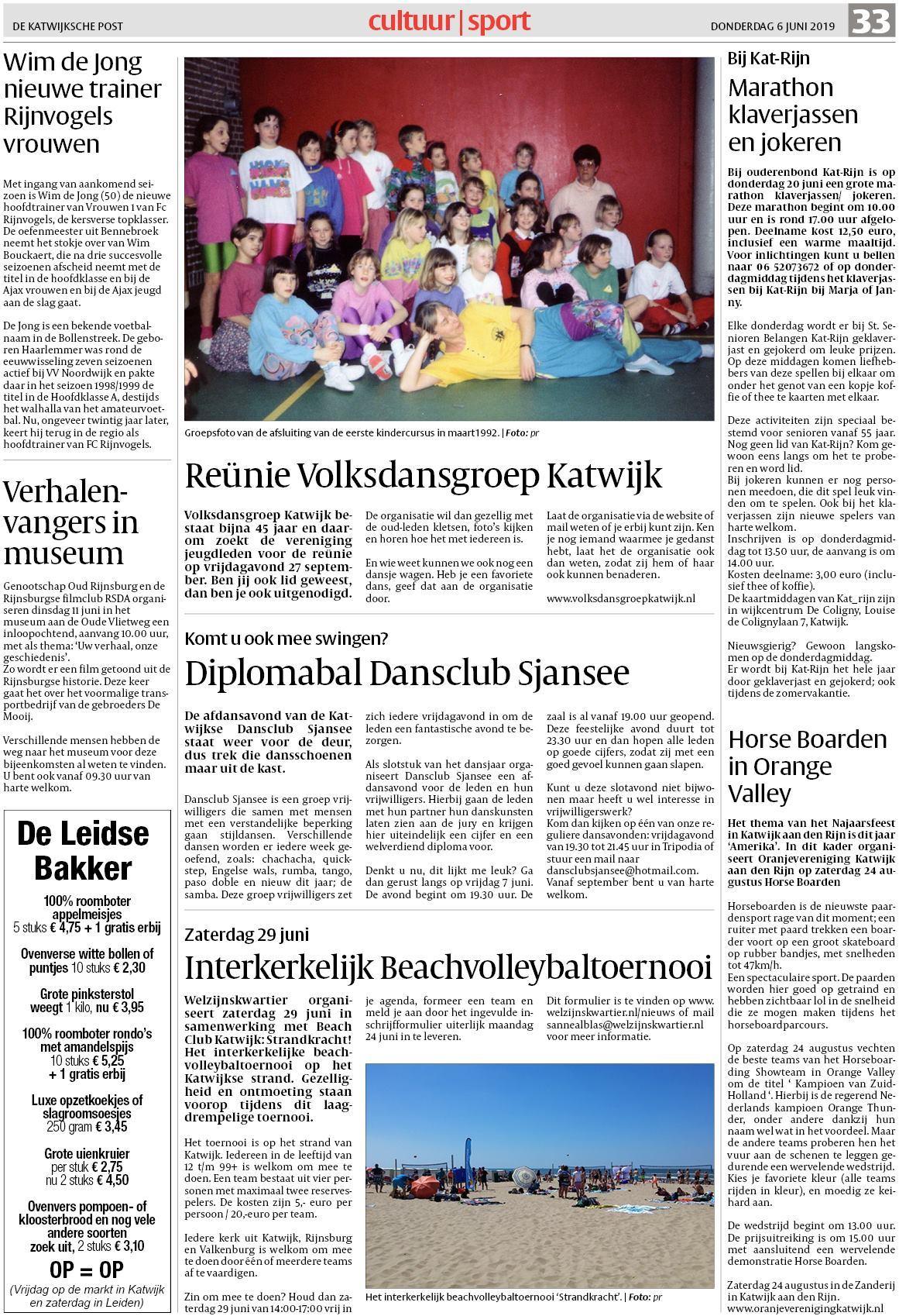 ad3490e31c1 De Katwijksche Post 6 juni 2019