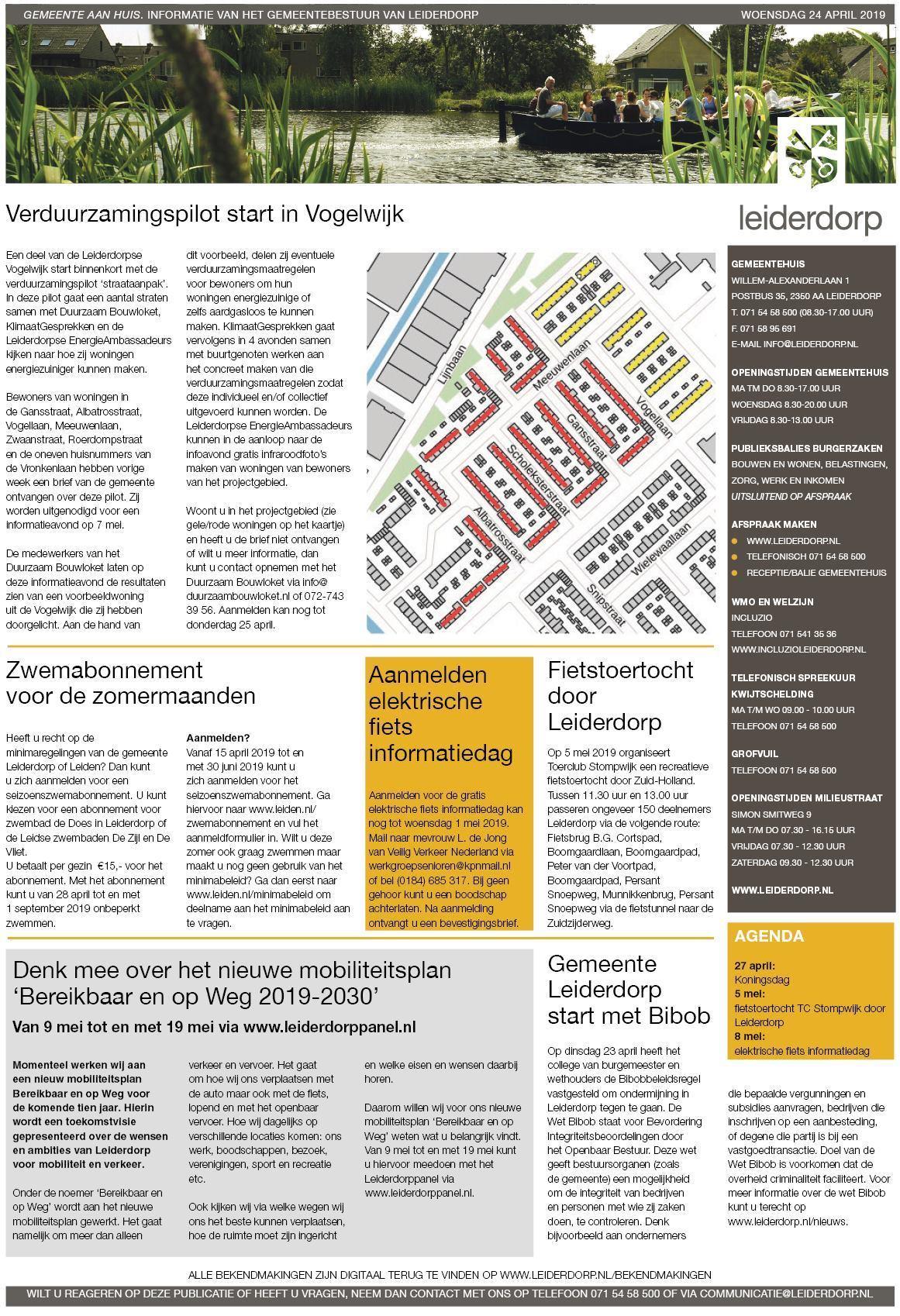 a1646332346 Leiderdorps Weekblad 25 april 2019