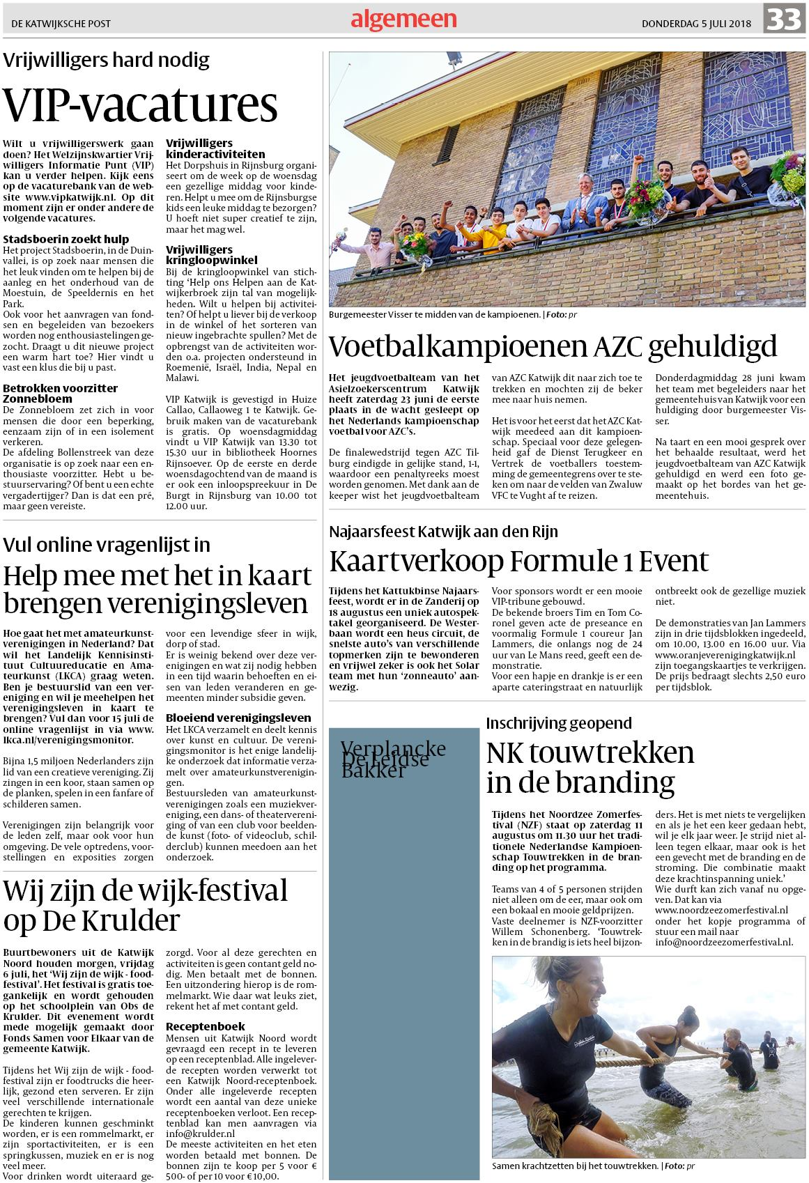 19b75380ded De Katwijksche Post 5 juli 2018