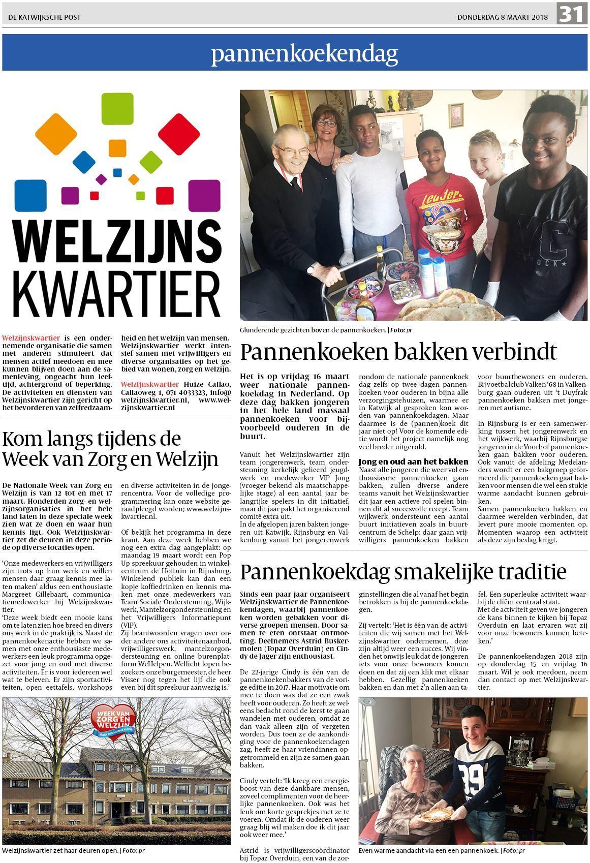 De Katwijksche Post 8 maart 2018