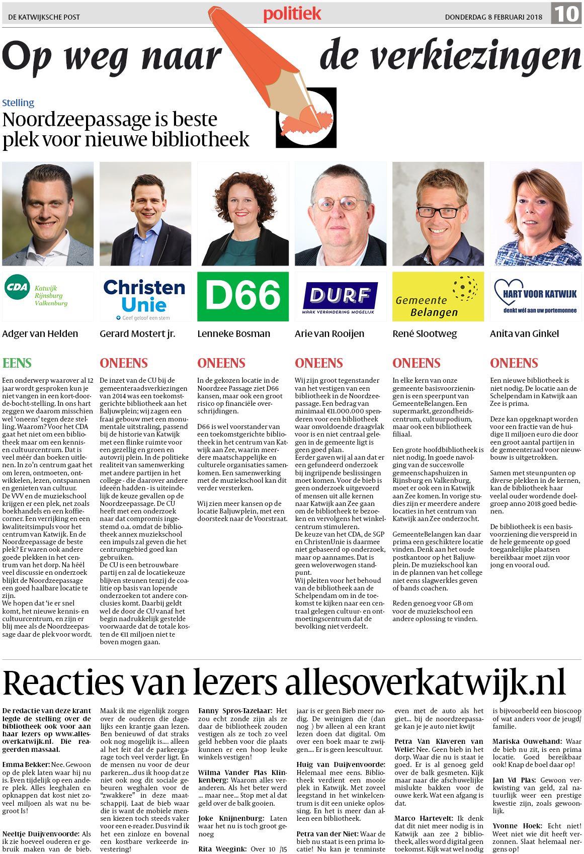 Delftse Post CDA er Chris van Dam nr.12 kieslijst 2e kamer