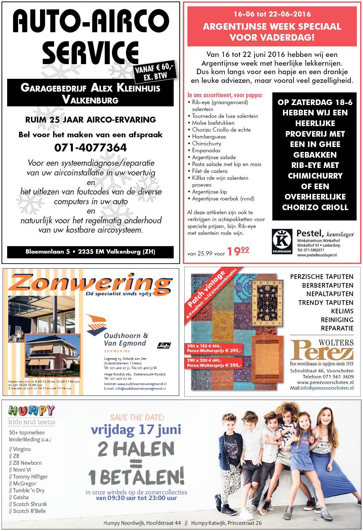 Topmerken Kinderkleding.Leiderdorps Weekblad 15 Juni 2016