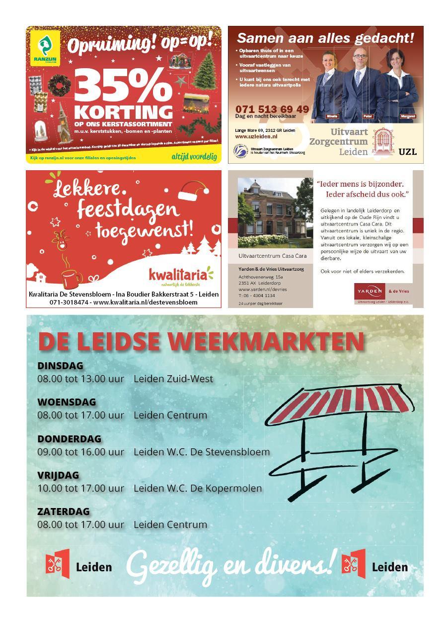 88d592c5237 Nieuwsblad De Leydenaer 18 december 2018