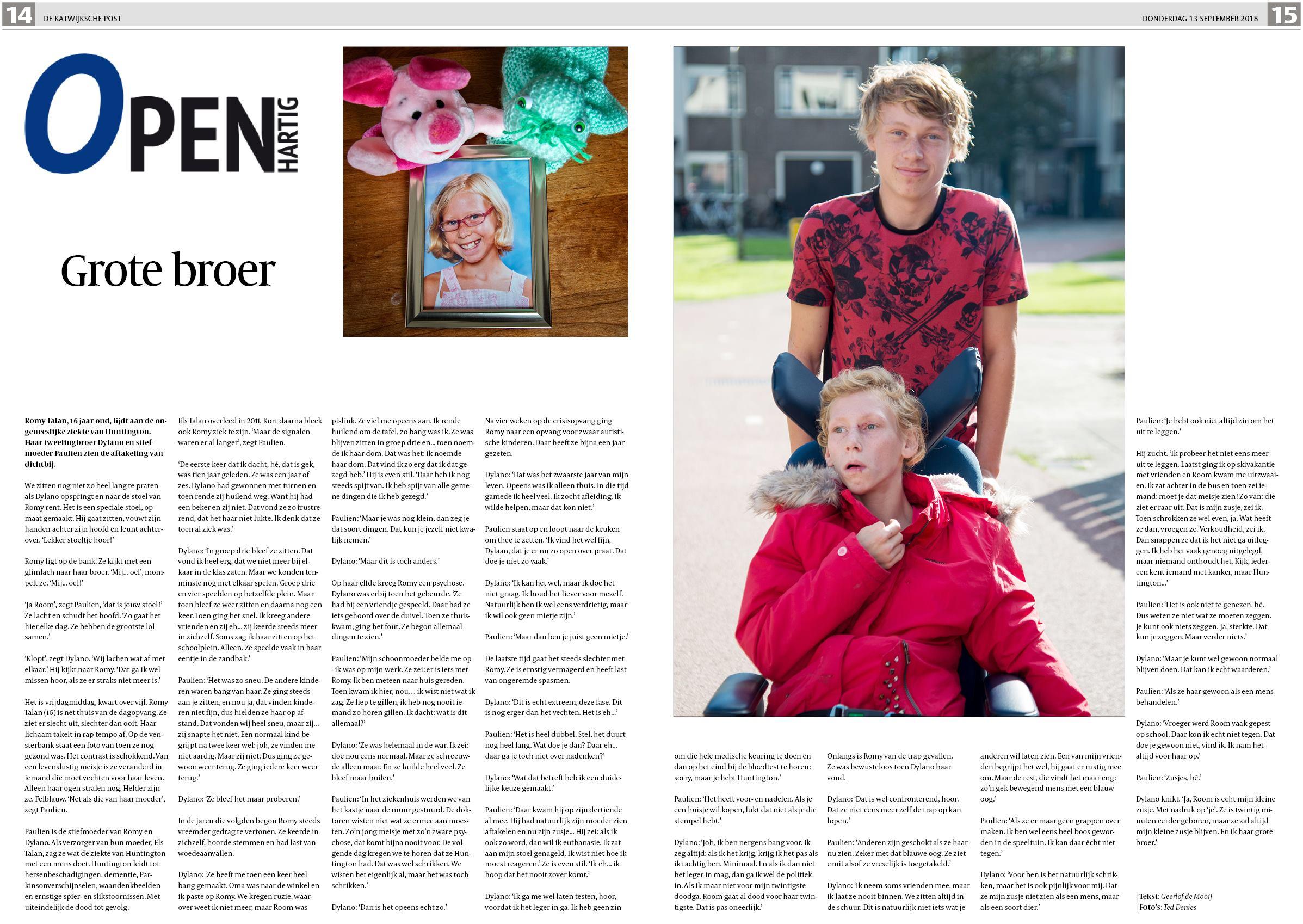 deabaa017d8b0e De Katwijksche Post 13 september 2018
