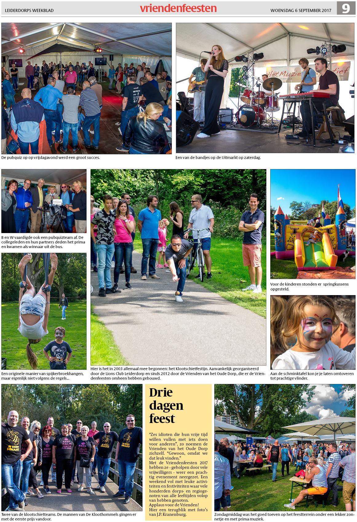 Schminktafel Te Koop.Leiderdorps Weekblad 6 September 2017