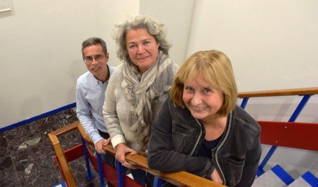 Irma van den Berg, Renée Koster en René Ungerer (vrnl) geloven in het Rijleskeurmerk.
