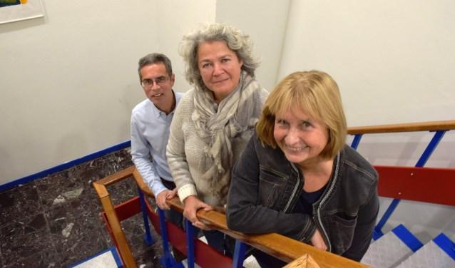 Irma van den Berg, Renée Koster en René Ungerer (vrnl) geloven heilig in het Rijleskeurmerk.