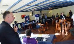 Jos Post opent de eerste informele  bijeenkomst van de LBKR.