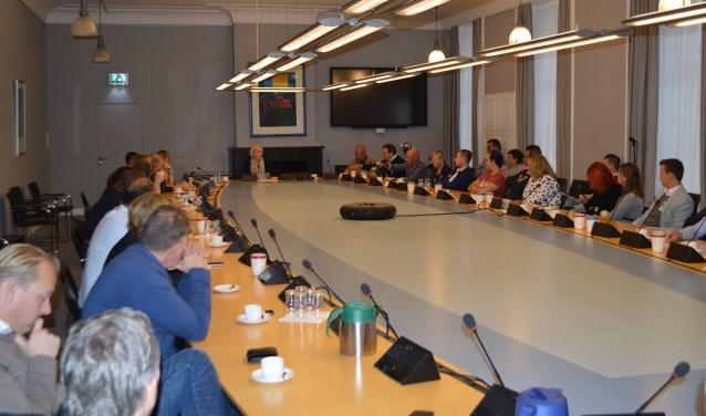 In de aanloop naar het debat over de WR< is de branche meerdere malen bij de Tweede Kamer op bezoek geweest.