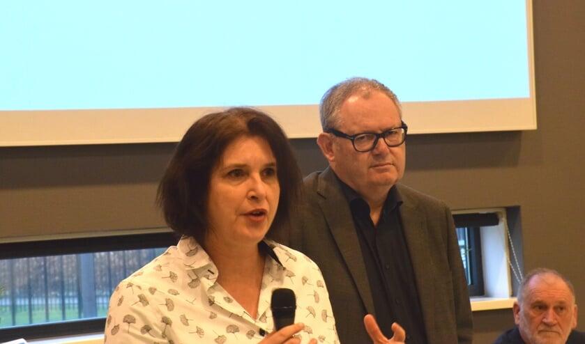 Petra Delsing en René Verstraeten leidden het CBR.